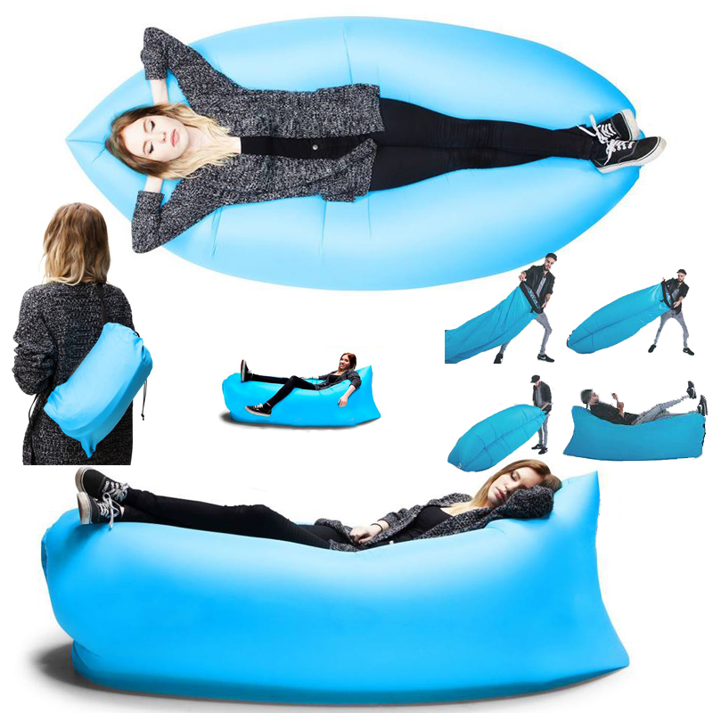 Self-Inflatable Beach Sofa/Couch/Bed | Lazada Singapore