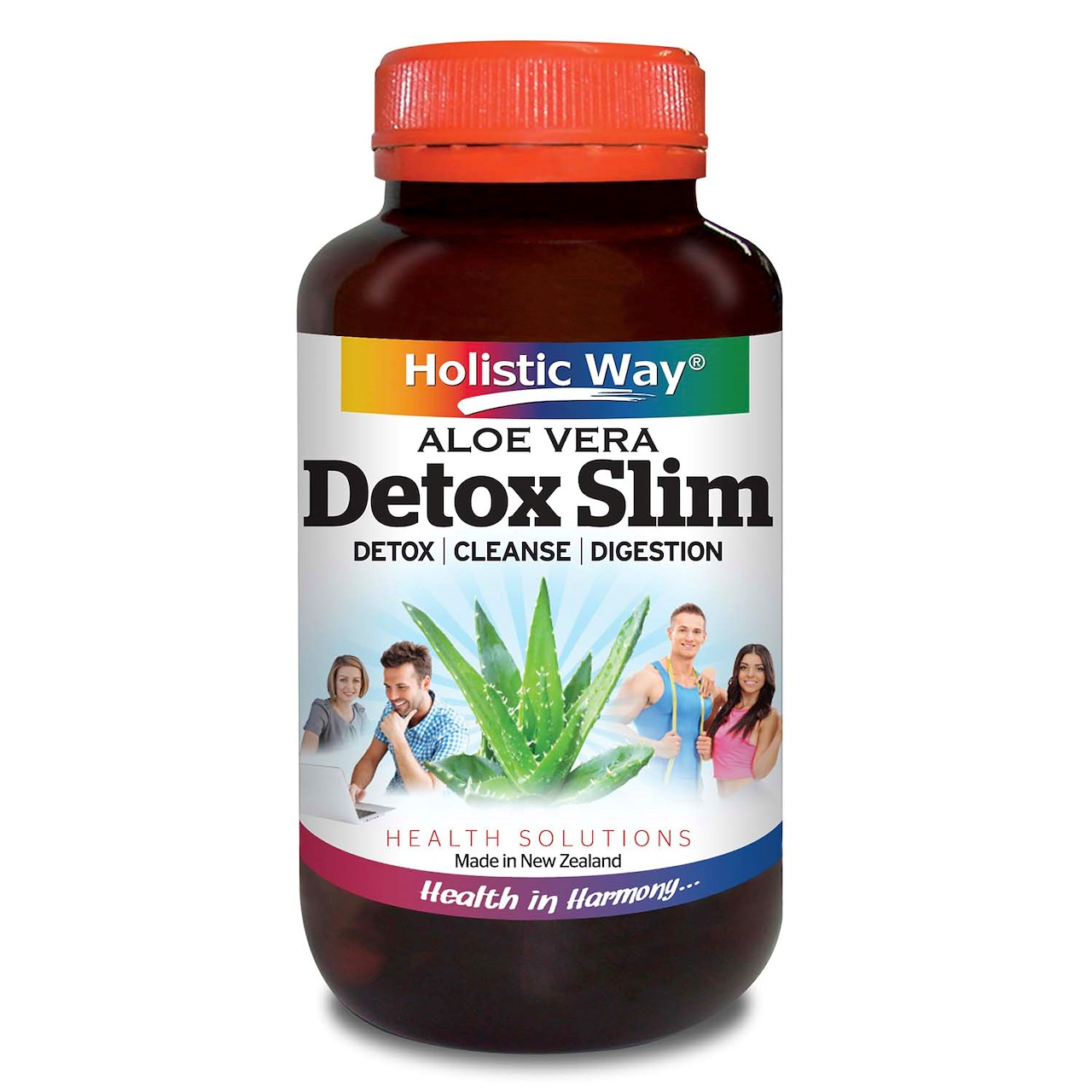 Every Need Want Day Detoxslim Holistic Way Detox Slim 60 Vegetarian Capsules