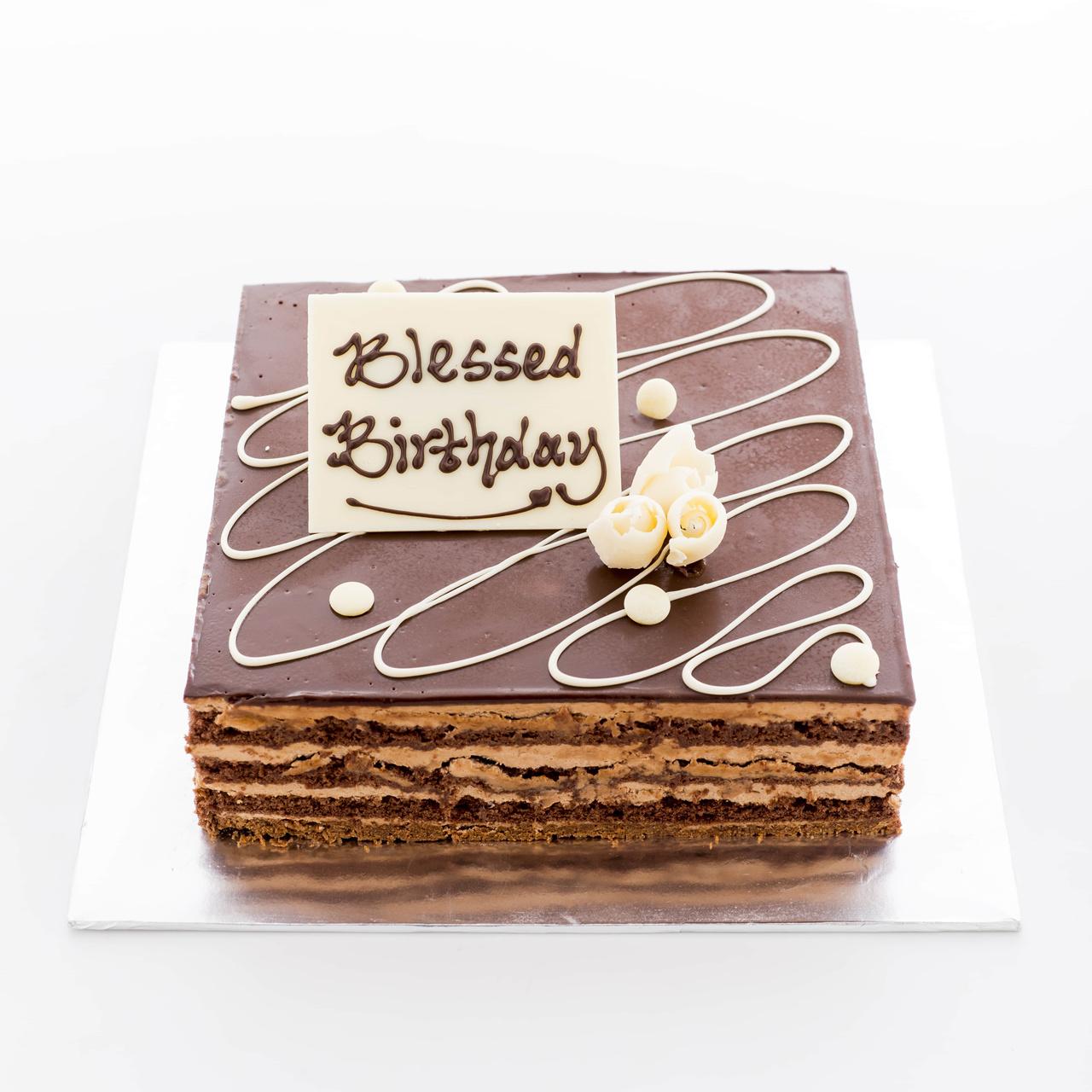 Hazelnut Chocolate Cake Wording