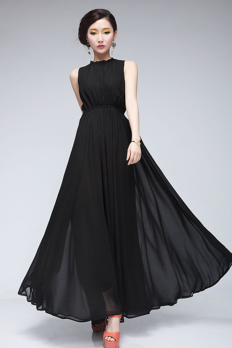 Black dress qoo10 - One Of The Dresses That Caught My Attention Was This Totally Classy