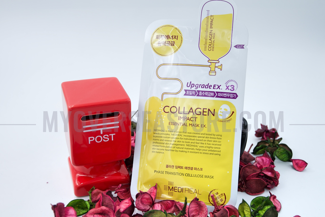 Every Need Want Day Mediheal Collagen Impact Essential Mask Per Piece