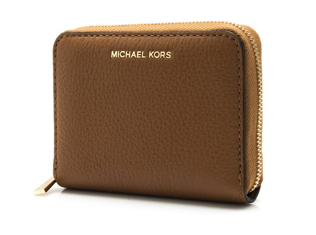 16c128fddc62 Michael Kors Liane Small Zip Around Wallet (Luggage)