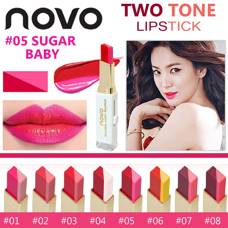 Buy Novo Eyeshadow Deals For Only Rp24900 Instead Of Baby Lipstik Two Tone Colour
