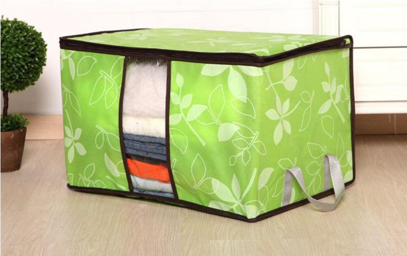 Highlights. Cloth Organizer Motif Bunga/Tempat Baju/ Storage Bag Simpan Penyimpanan