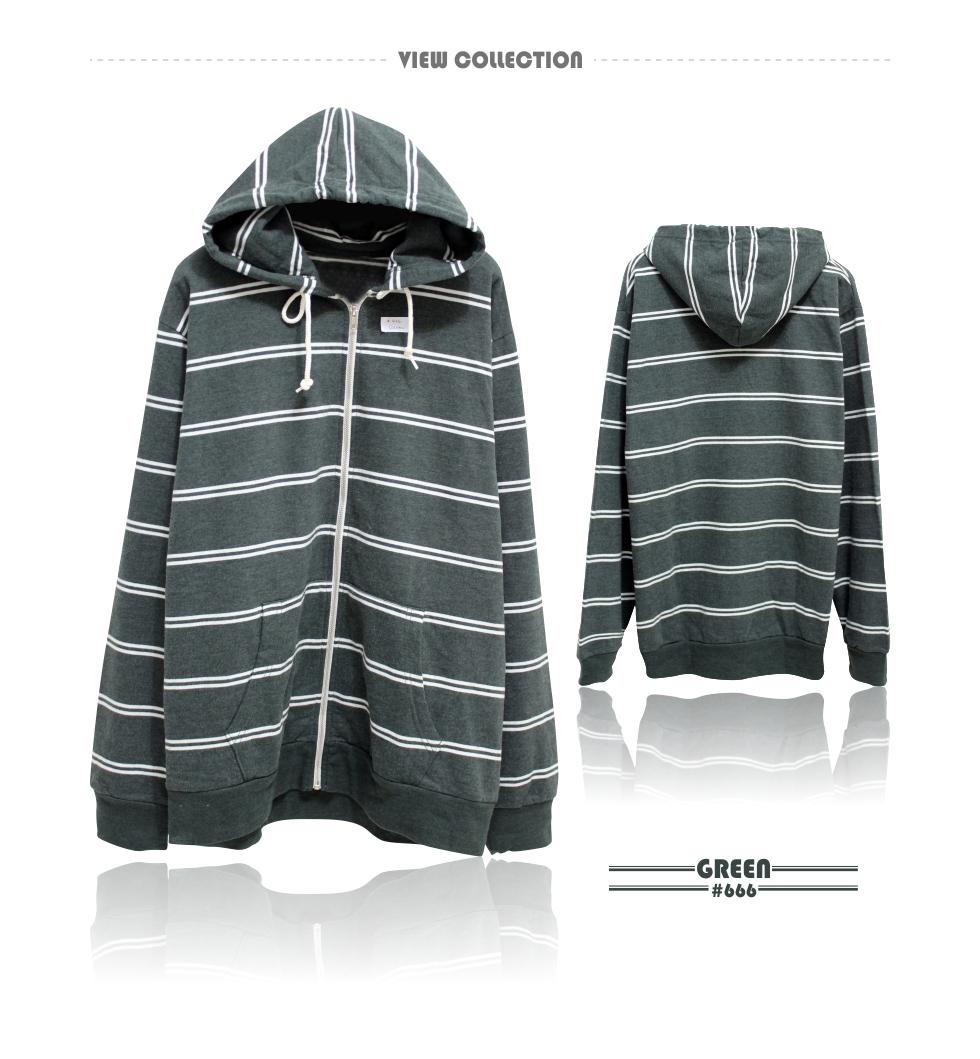 Buy Super Sale Unisex Slub Knit Zip Front Hoodie Comfortable Jaket Sweater Pria Wanita High Quality Urgan Double Stripe Fleece Hoodies