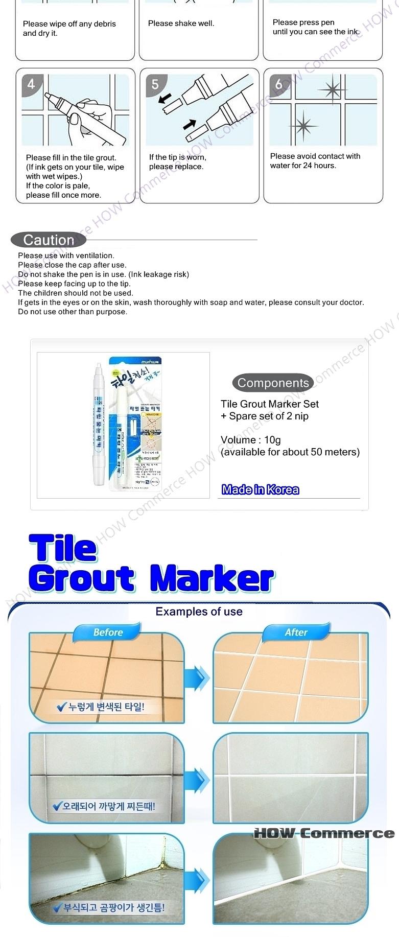 Tile Grout Marker