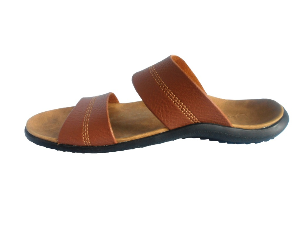 Buy Sandal Pria Voltus Double Slof 418 Tan Deals For Only Rp149900 Flat Wanita Size Available 39 43