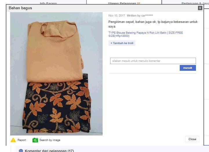 Top Blouse Floy Kebaya Gray And Batik Lilit Skirt