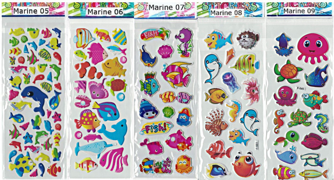 Buy Stickers Kids Cartoon Stickers Goodie Bag Frozen
