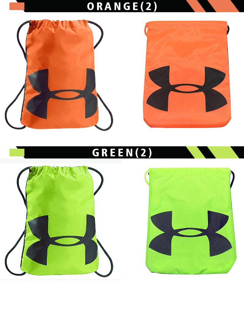 Buy under armour 12 color waterproof drawstring bag backpack sports bag shoe bag shoulder bag
