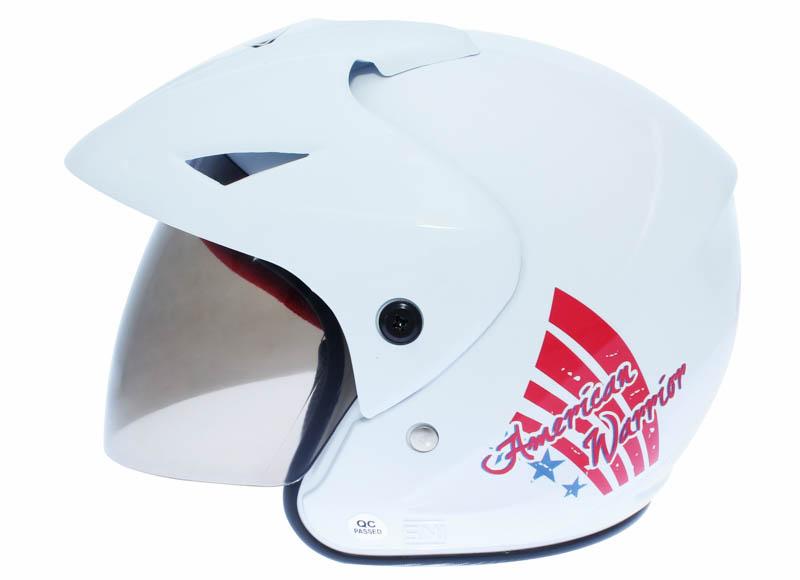 WTO Helmet Junior Neo - American Warrior - Putih