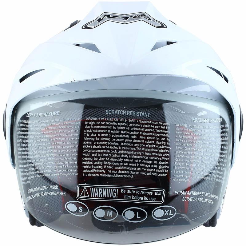 WTO Helmet Kids Pet - Mc. Queen - Putih