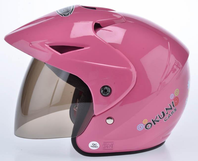 Mc Queen - Merah WTO Helmet Junior Neo - Okuni - Pink .