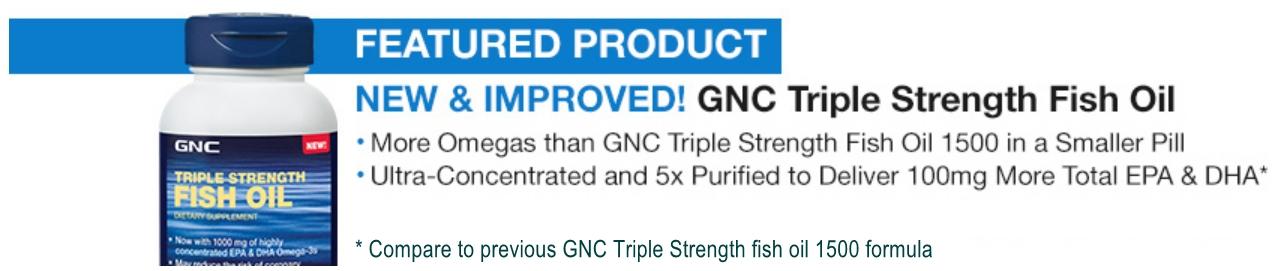 Buy weekend sale 72 off retail gnc triple strength for Gnc triple strength fish oil 1500