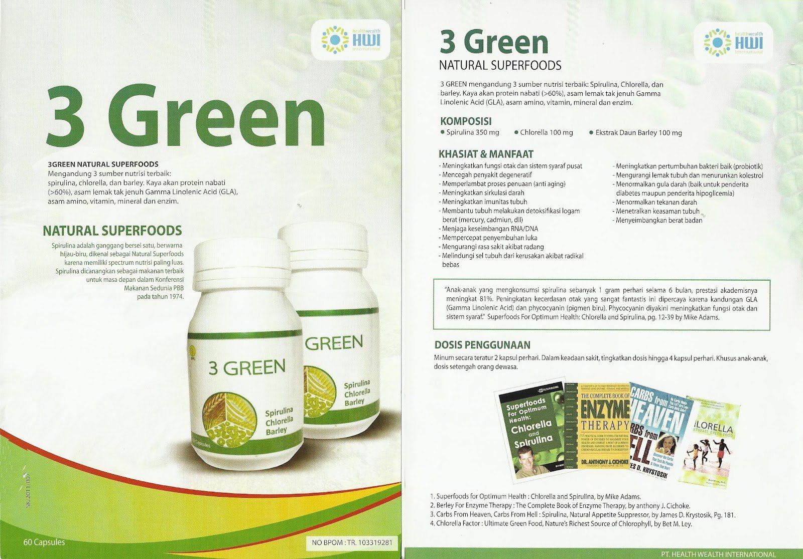 Manfaat Neoalgae Spirulina