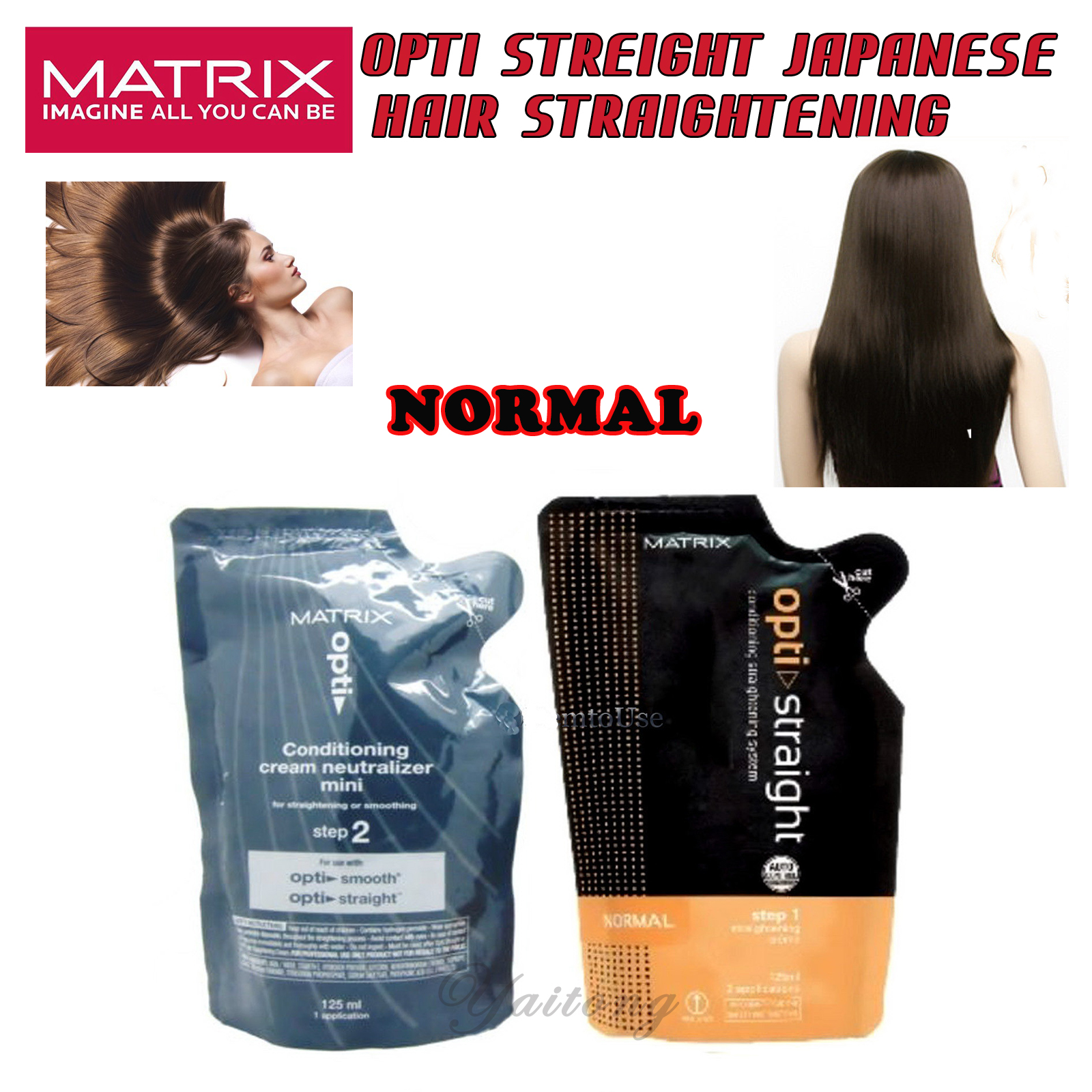 Matrix Opti Straight Japanese Hair Straightening Cream
