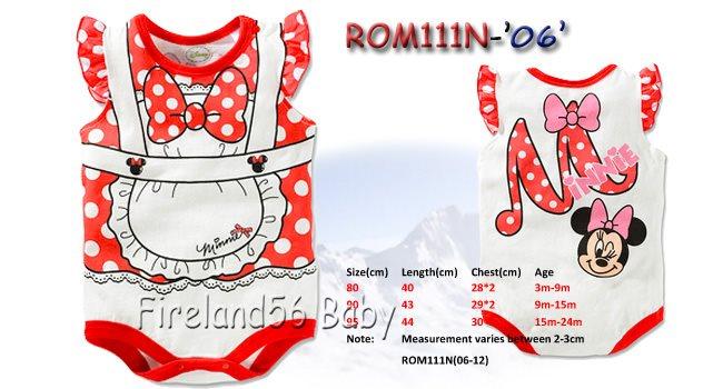 Dsn1 Restock 10 10 2014 New Design 2014 Disney Rompers