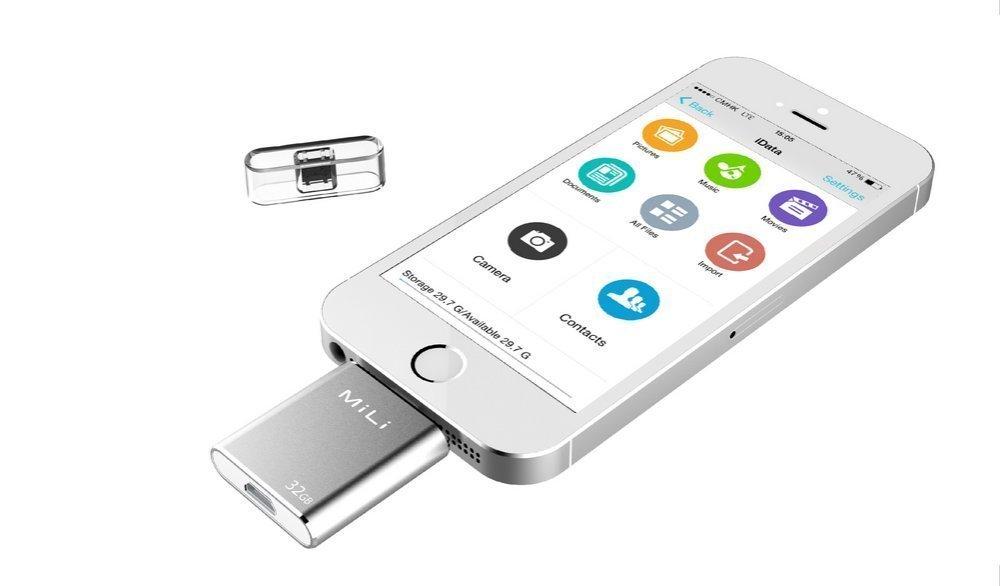 Portable Iphone Storage : Buy mili idata gb portable storage usb flash drive