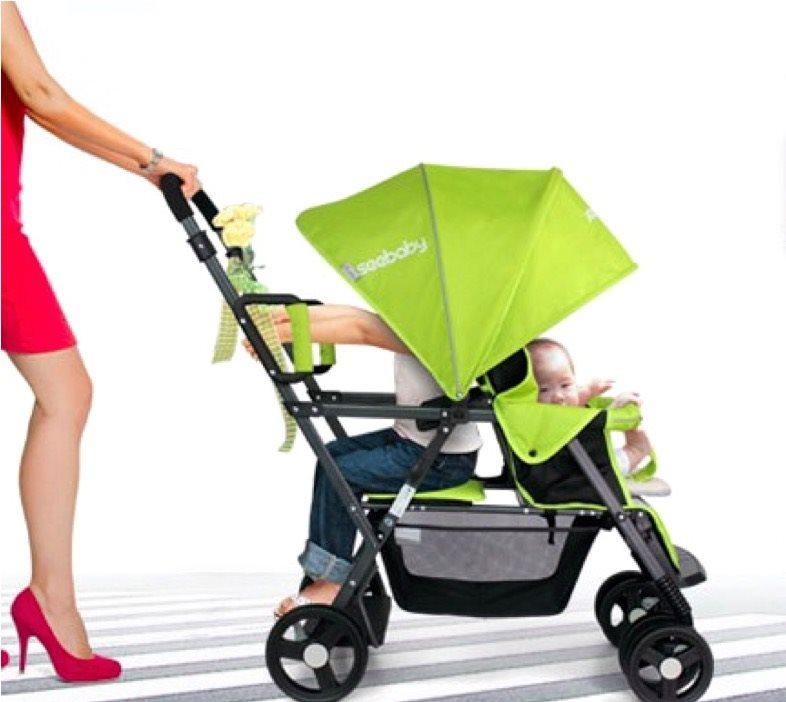 Buy 71*Stroller*SeeBaby*Twin Stroller*baby brothers sisters pram ...