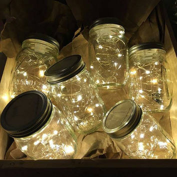 battery operated plug adapter waterproof starry fairy string lights. Black Bedroom Furniture Sets. Home Design Ideas