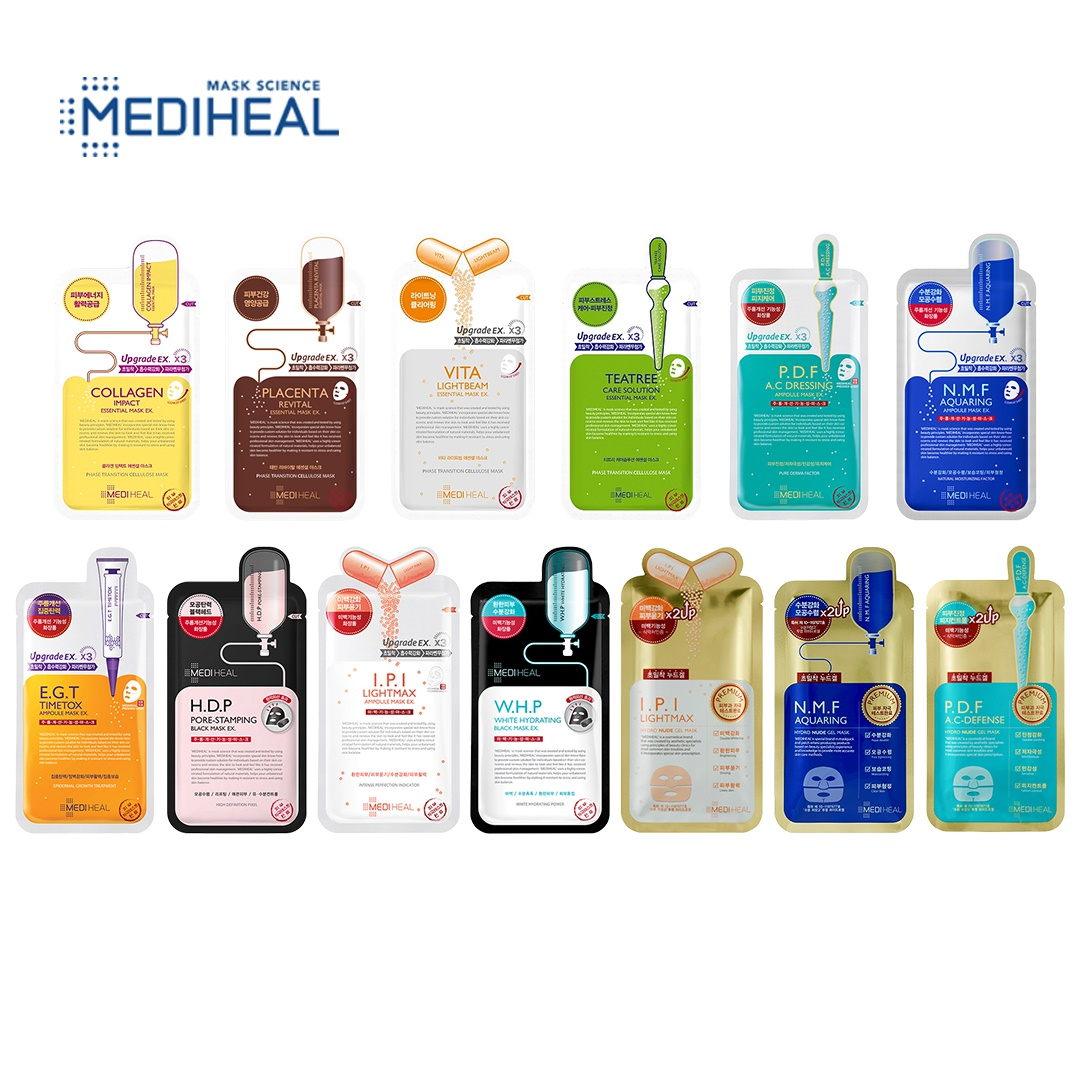 Every Need Want Day Mediheal Collagen Impact Essential Mask Ex 24ml X 10pcs An That Contains Hydrolyzed Elastin And Acetyl Hexapeptide 8 To Promote