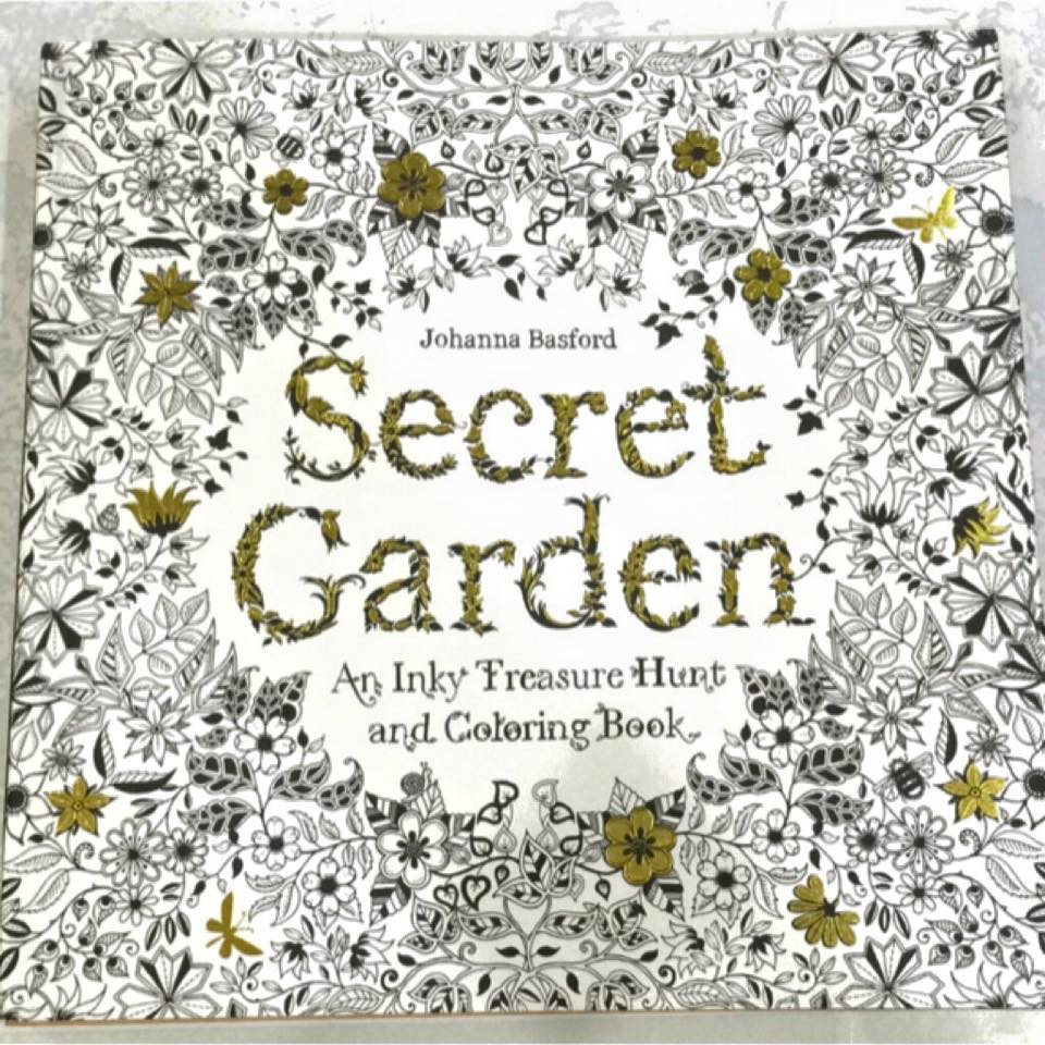 Secret Garden An Inky Treasure Hunt And Colouring Book Is Published By Laurence King Not Only A But Also