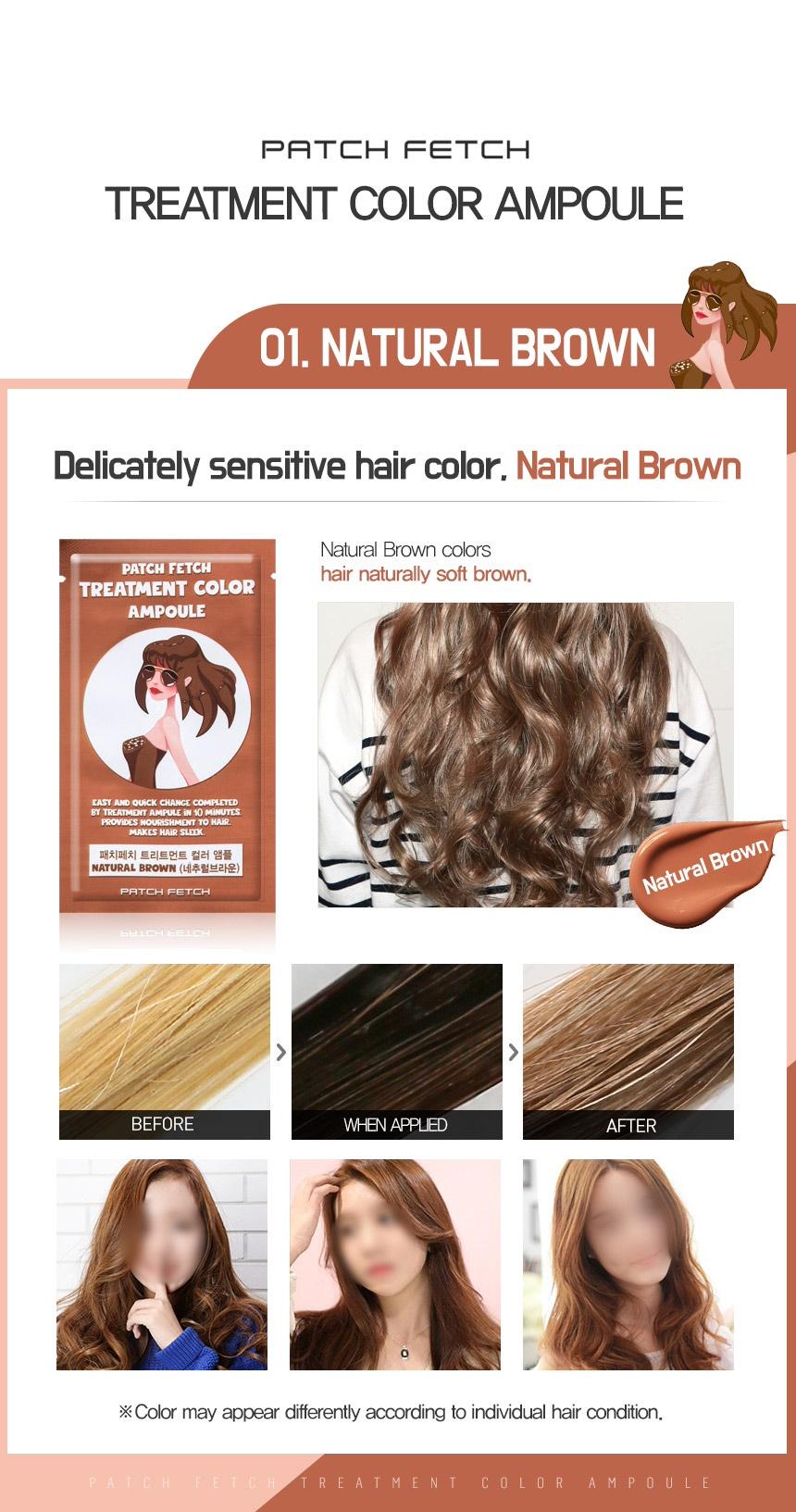 Buy Buy 1 Get 1 Free11 Patch Fetch Hair Color Treatment Ampoule