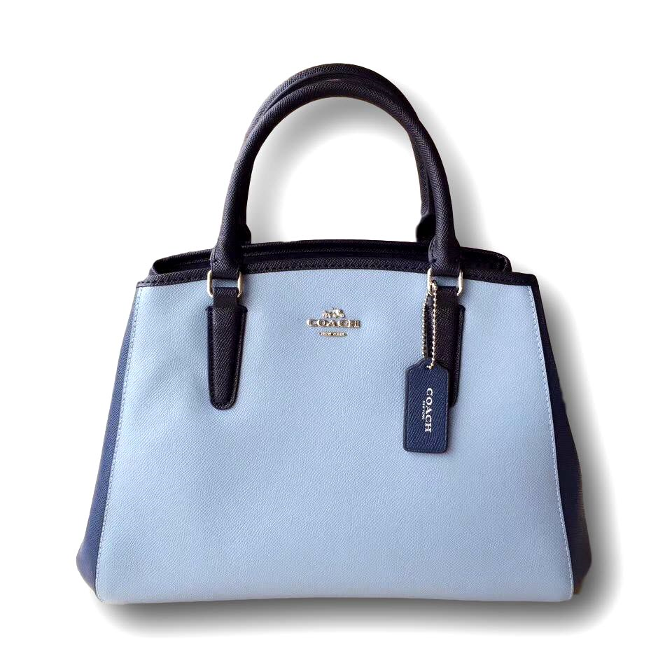 Buy Coach Handbags Totebagsclearance Sales Now On100 Small Margot Carryall In Signature Canvas F34608 Christie Crossgrain Leather F36637