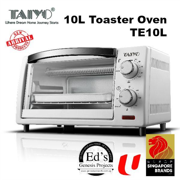 Countertop Oven Singapore : Taiyo 10L Toaster Oven - TE10L Lazada Singapore