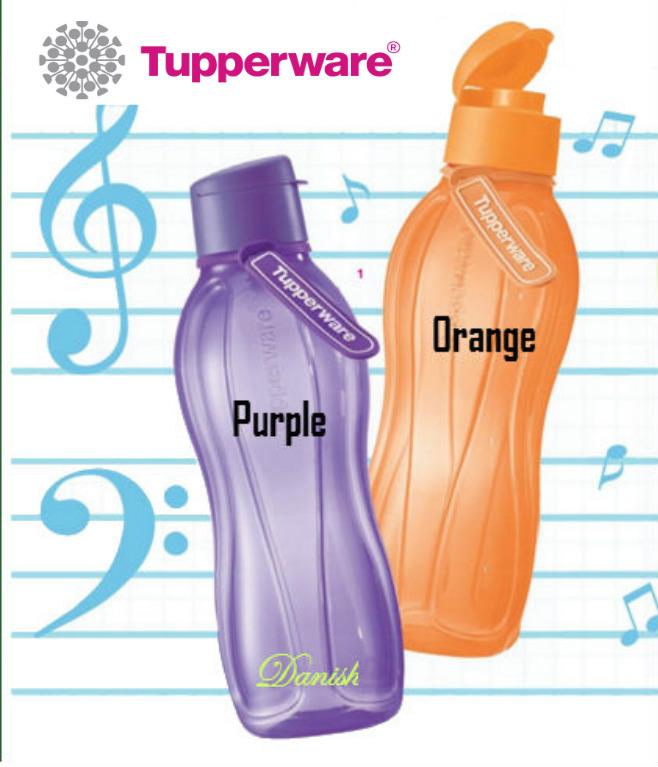 authentic tupperware aquasafe eco fliptop water bottle bpa free best giftlifetime warranty. Black Bedroom Furniture Sets. Home Design Ideas