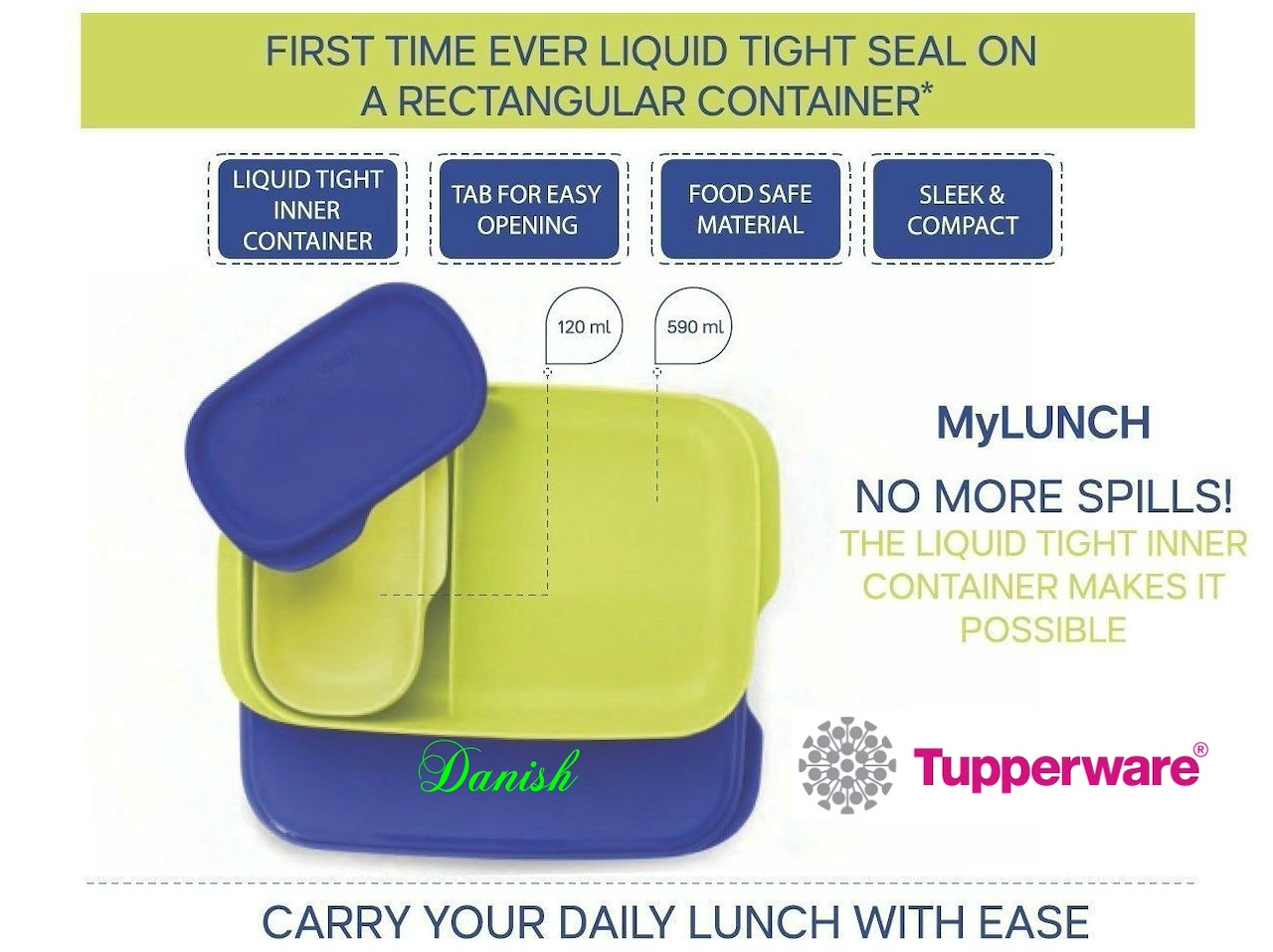 Buy Authentic Tupperware Kids Adults The Best Lunch Box Snack Bring Your Own Set Spring Surprise