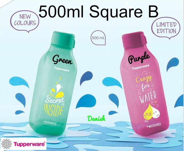 Buy ?Authentic Tupperware? SG Seller Aquasafe Eco Fliptop Water Bottle*BPA  Free* Best Teachers Day Gift Deals for only S$11 instead of S$11