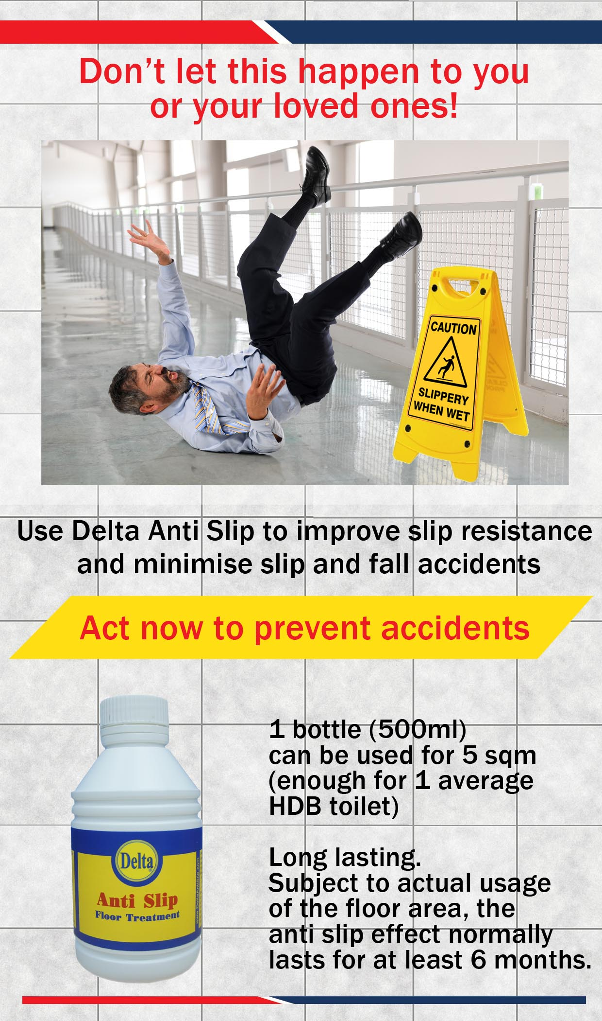 Buy anti slip floor treatment slippery floor solution non slip highlights dailygadgetfo Gallery