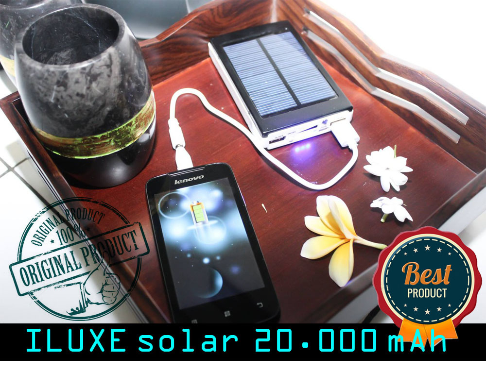 Buy NEW ILUXE Original Powerbank Solar Tenaga Matahari