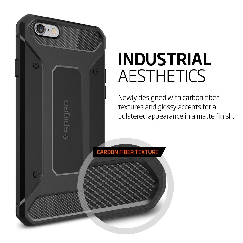 Buy Iphone 6 6s Casing By Spigen Thin Fit Plus Case Xr Carbon Fiber Softcase Rugged Armor Deals For Only S15 Instead Of S35