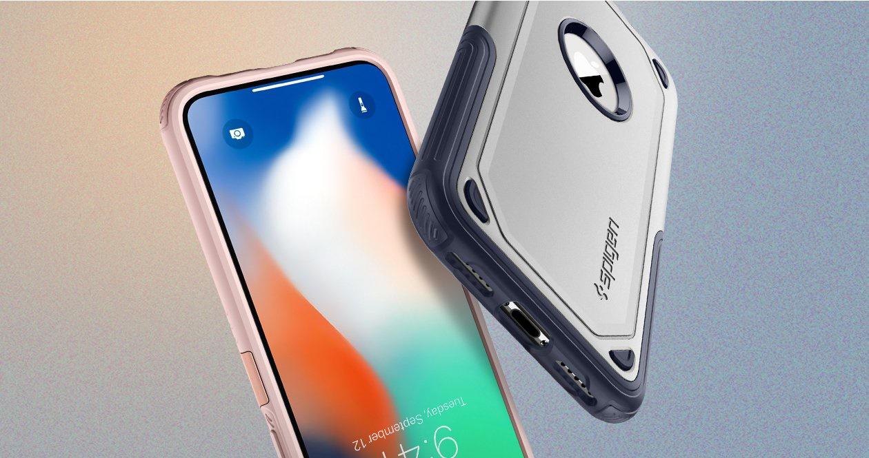 Buy Spigen Iphone X 10 Case Casing Cover Screen Protector 100 Crystal Hybrid Original Champagne Gold Series Color Black Gunmetal Rose