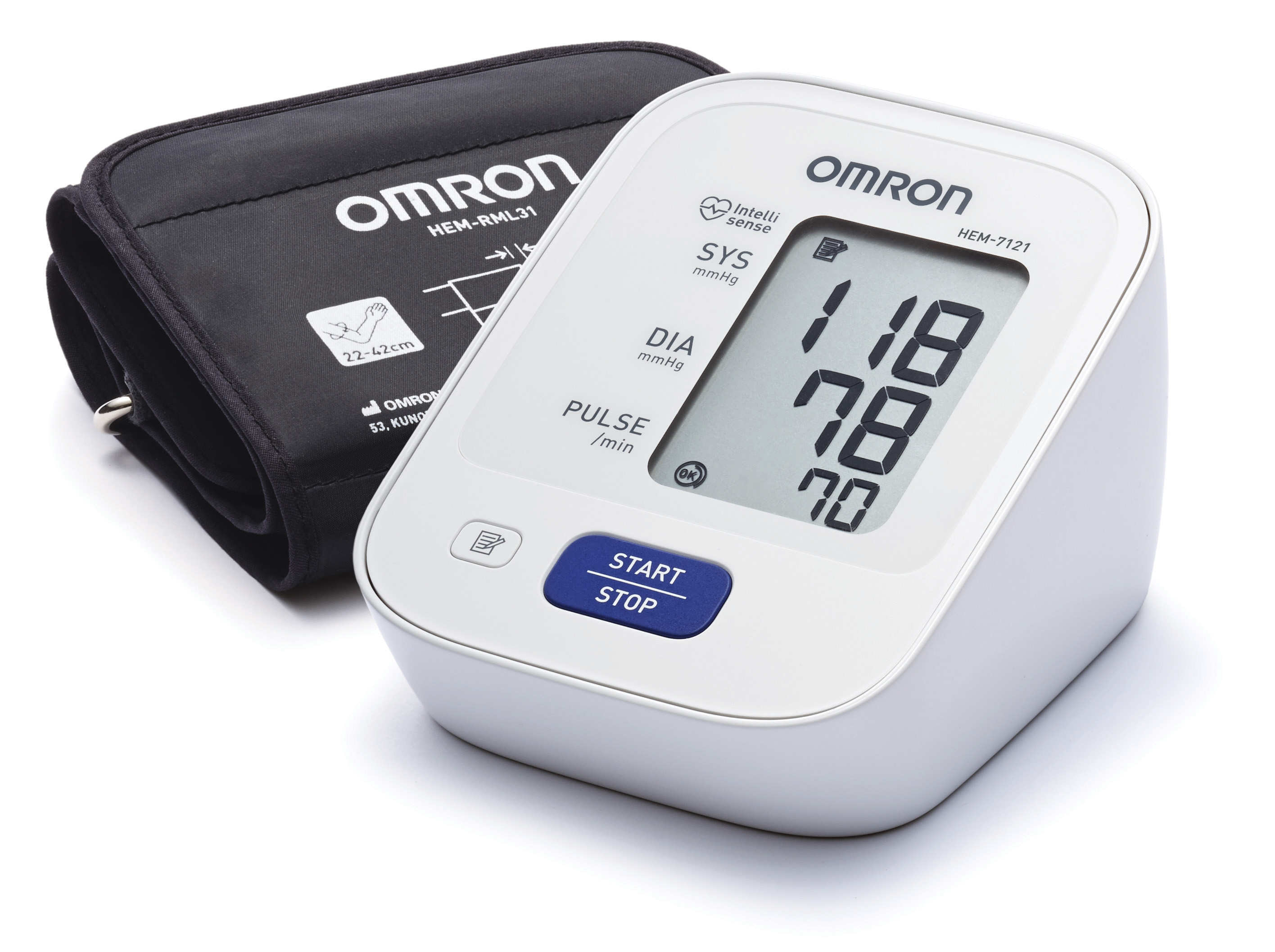 Buy Omron 5 Years Local Warranty Hem 7121 7120 7310 6121 Made In