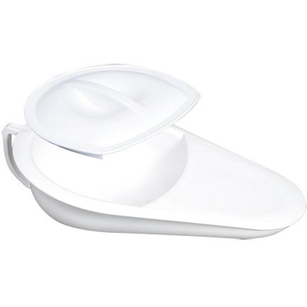 Bedpan Gilac with Lid 2.5l