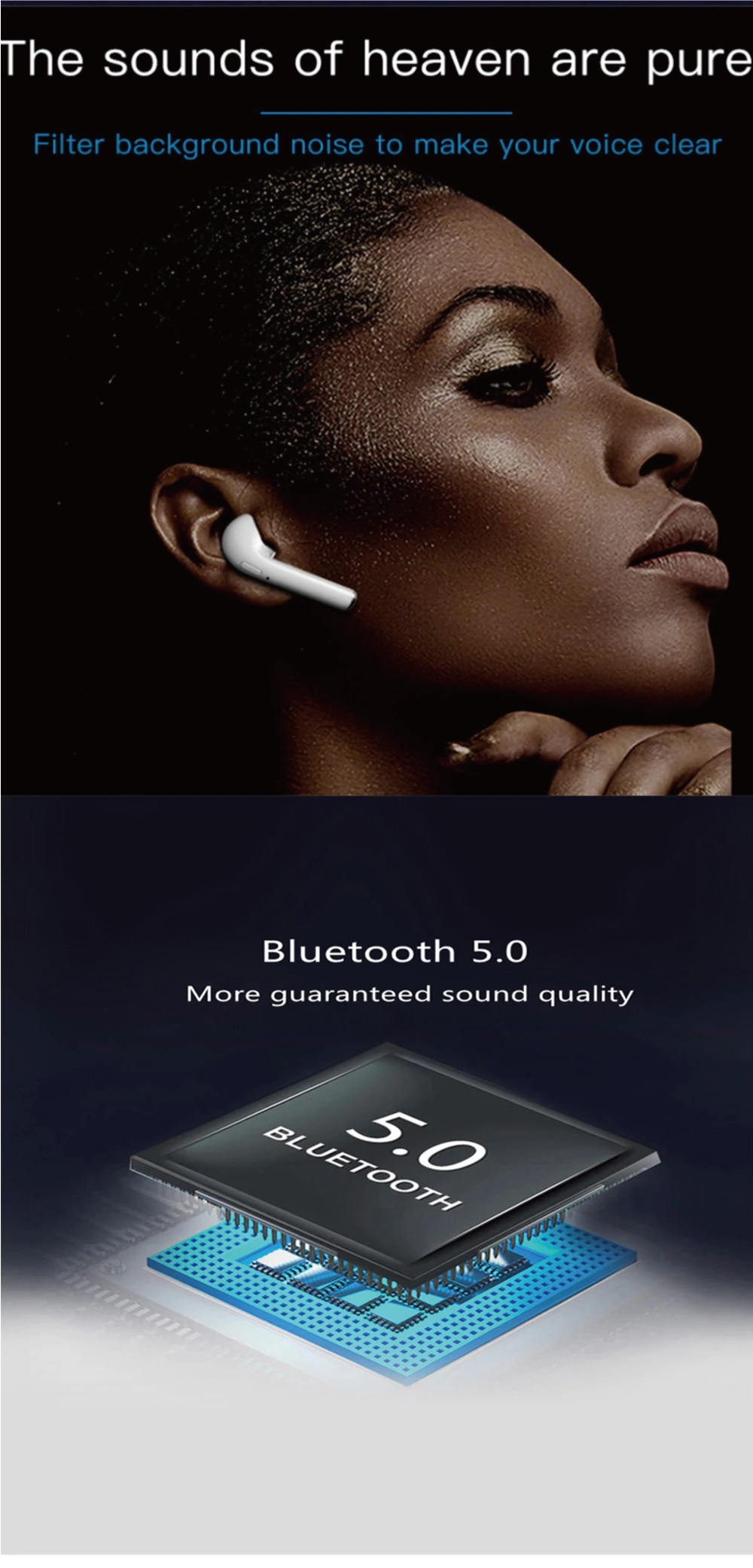 Buy 2019 Latest Version i11/i12/i18/V8 TWS Wireless Bluetooth 5 0 Earphone  Earbuds for iPhone Android Deals for only S$29 9 instead of S$29 9