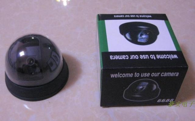 Kamera Simulasi CCTV (untuk Menggertak Maling) Simulation camera CCTV ( for Bluff Theft) HOM SJA238238264872 SJ0022 Qty003