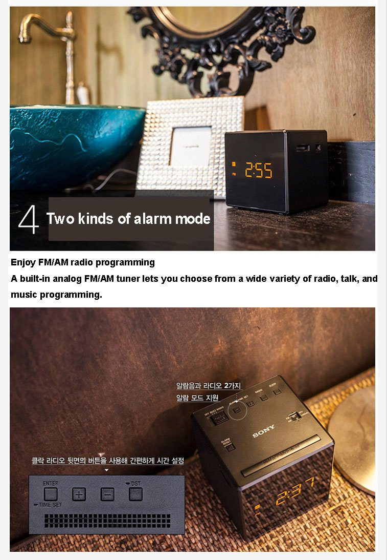 sony alarm clock icf c1 manual