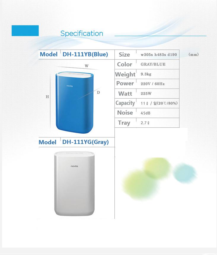 buy novita dehumidifier dh 165 dh 111 air dehumidifier   humidity control clothes drying air midea dehumidifier wdk50ae6n manual midea dehumidifier manual wdk50a6n