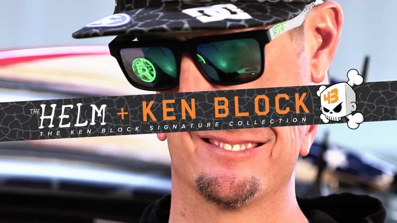 13f8e98b8e Buy Spy Helm Ken Block Lens Blue Orange Purple Happy Glasses ...
