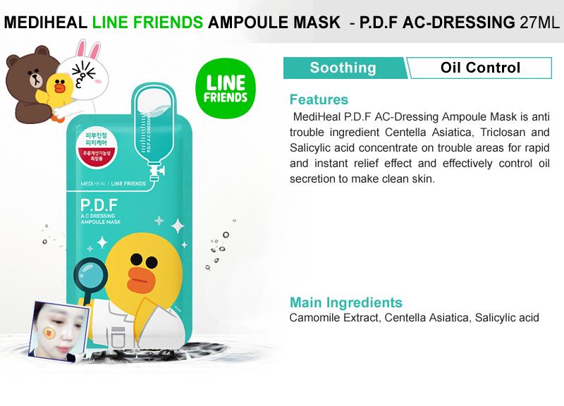 LINE FRIENDS/New arrival?LEADERS/MEDIHEAL/SNP?MEDIHEAL Ampoule Mask 10pcs set / N.M.F Aquaring / P.D.F AC-Dressing / E.G.T Timetox / I.P.I Lightmax /SNP ...