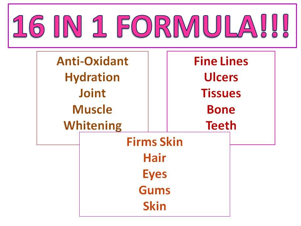 [IMPROVED FORMULA] 16 IN 1 ORIHIRO Placenta Collagen ...