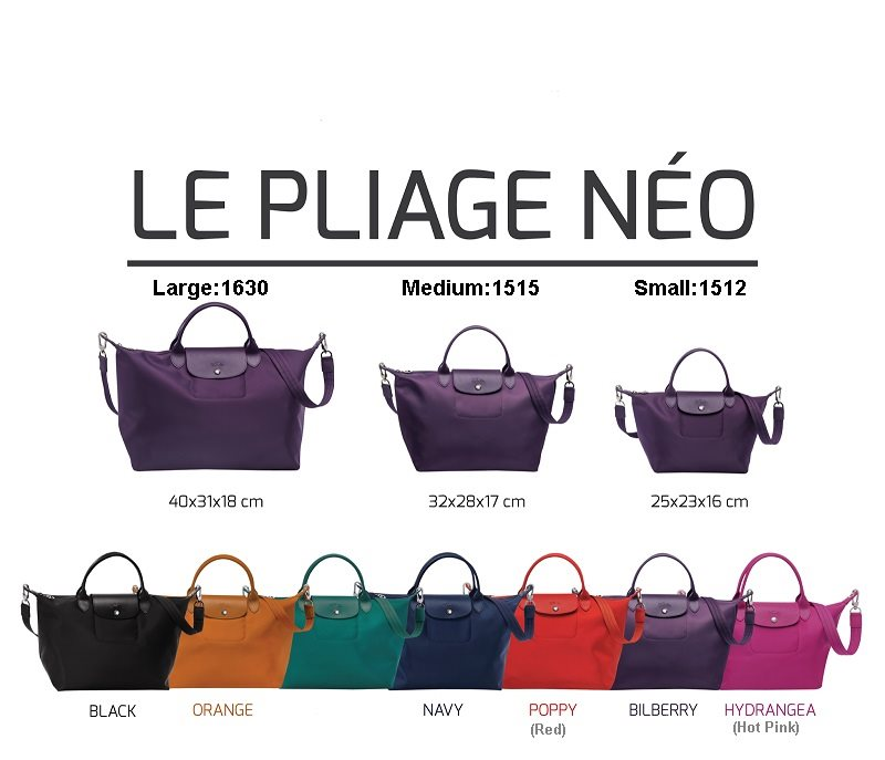 Buy Longchamp 2014 New Collection Le Pliage Neo 3sizes