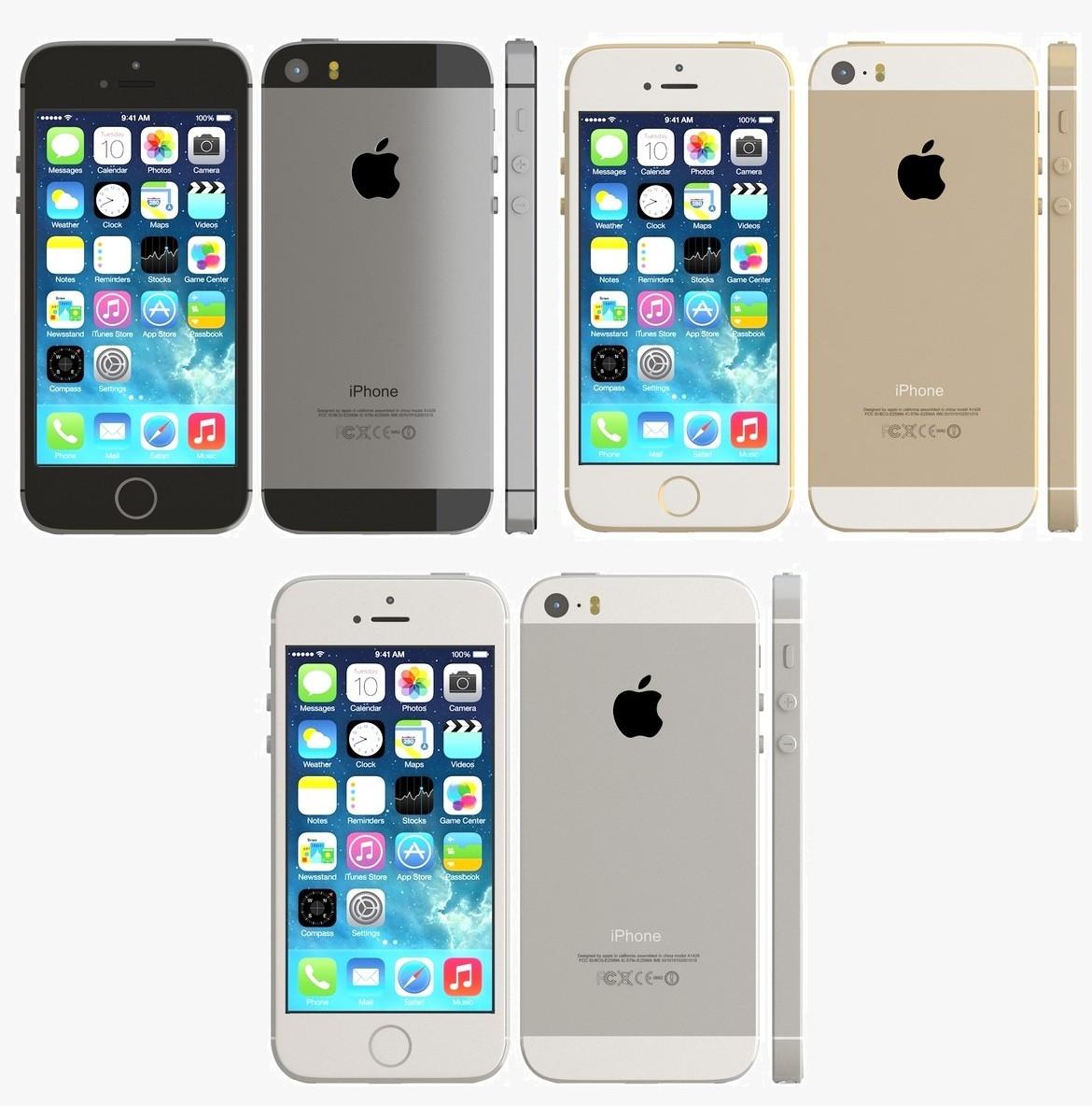 Iphone 5s цвета все