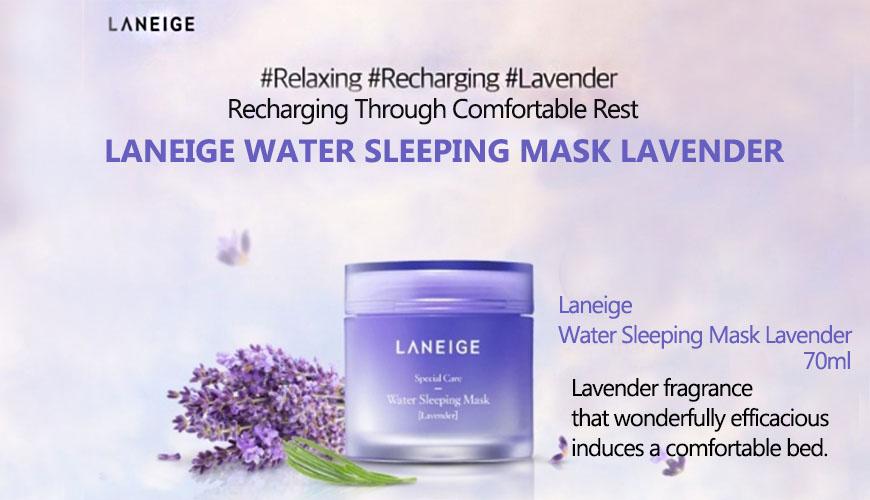 Kết quả hình ảnh cho Water Sleeping Mask (Lavender)
