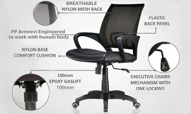 Ergonomic Adjustable Swivel Office Chair Decora Office Chair Designed To