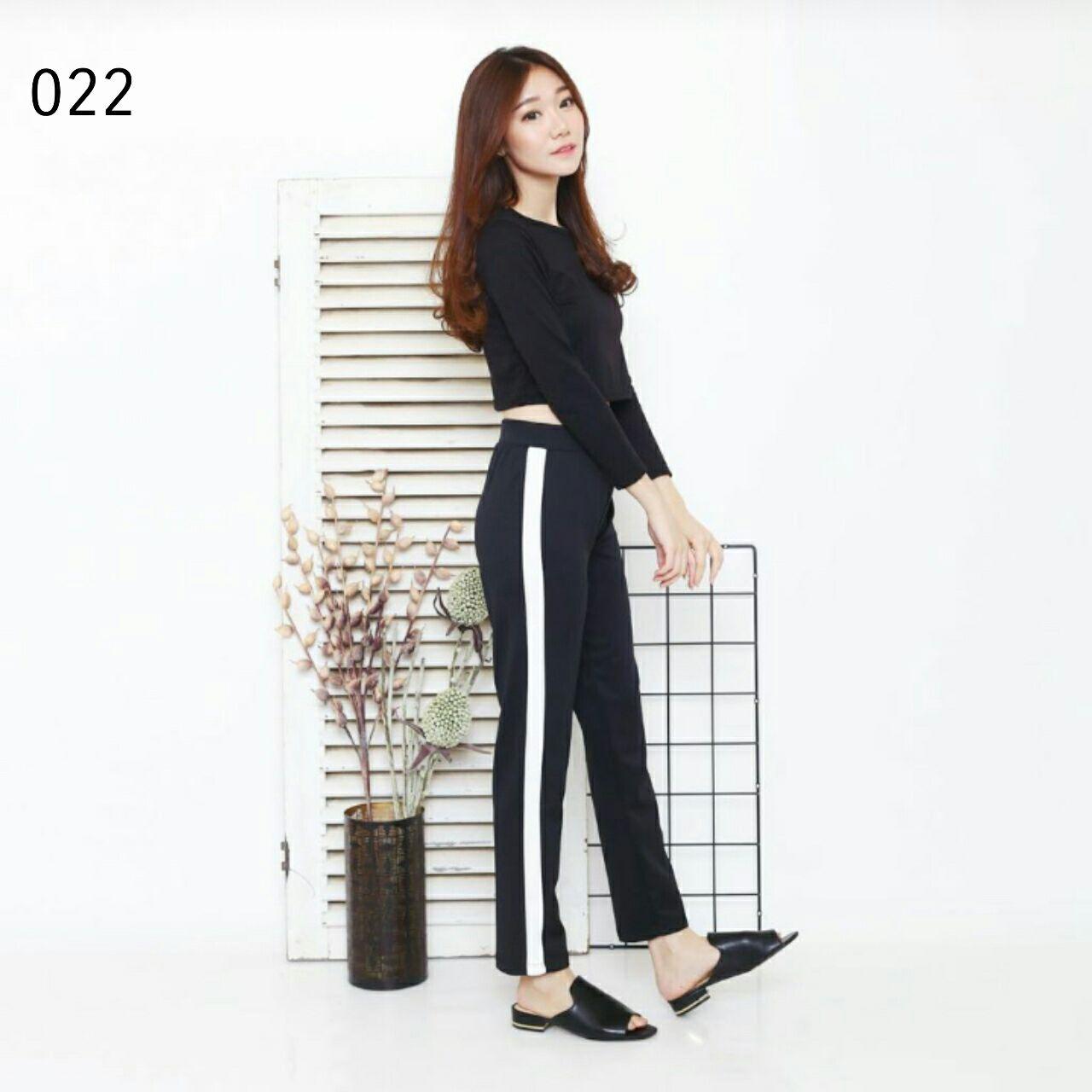 Buy Free Shipping Celana Stripes Pants Panjang Pendek Jeans Double Stripe Soft Blue Error Tolerance Measurements 2 4 Cm